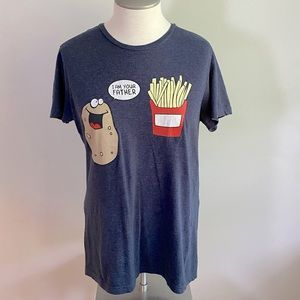 Bluenotes Graphic TShirt I Am Your Father Potato M